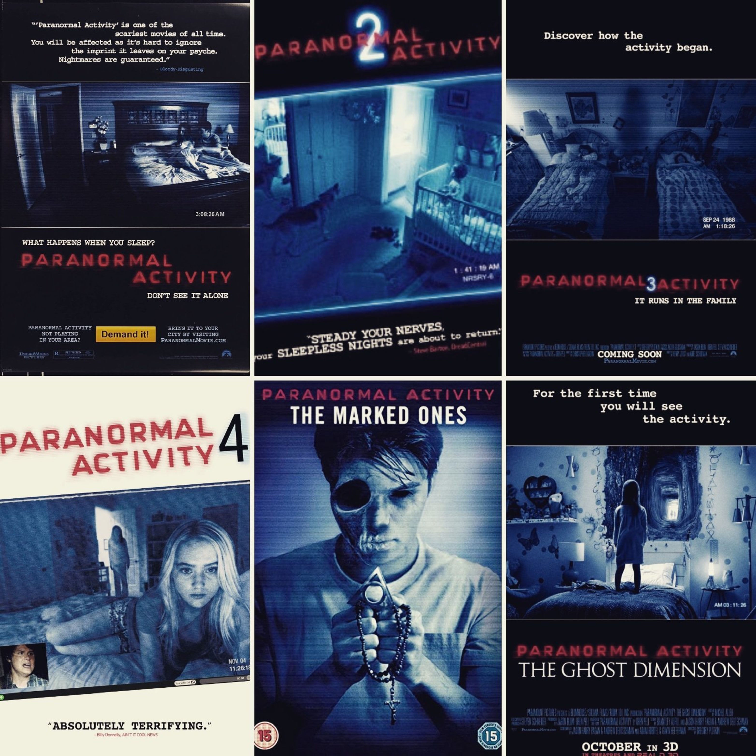 Paranormal Activity 2009 The Shining 1980 Doctor Sleep 2019 Scaretroducing Podcast Podtail