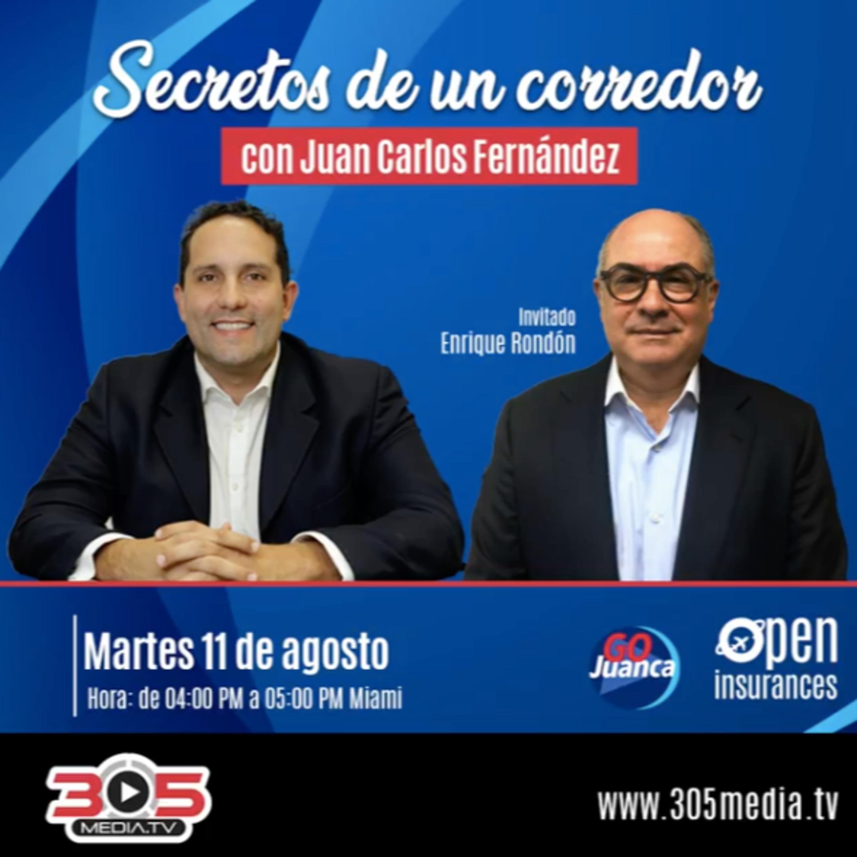 Temporada 2 | Episodio 5 | Secretos de un Corredor | con Enrique Rondón presidente de Mercantil Seguros Panamá