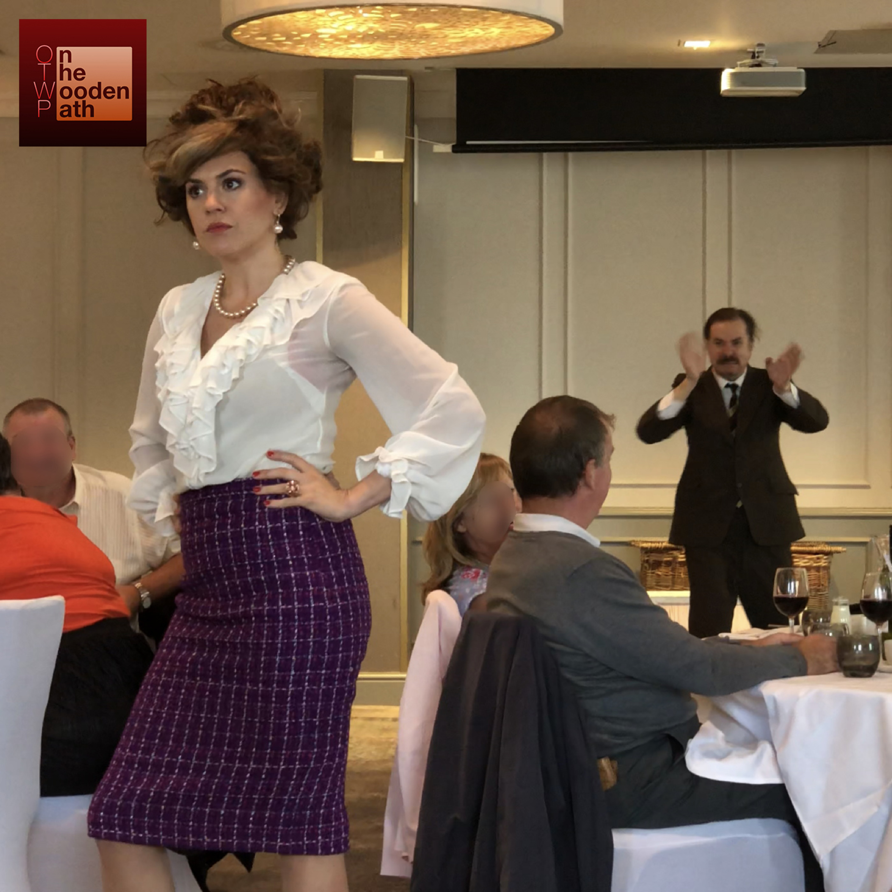 S02E11 - FAWLTY TOWERS LIVE: THEMED DINNER SHOW by Fawdinex @ Hilton Edinburgh Carlton Hotel / The Highland Suite - EdFringe2019
