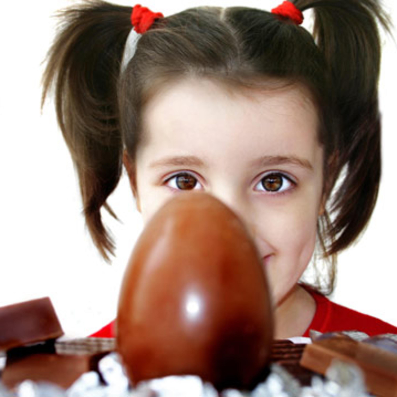 O que fazer a todos os chocolates que uma criança recebe nesta altura?