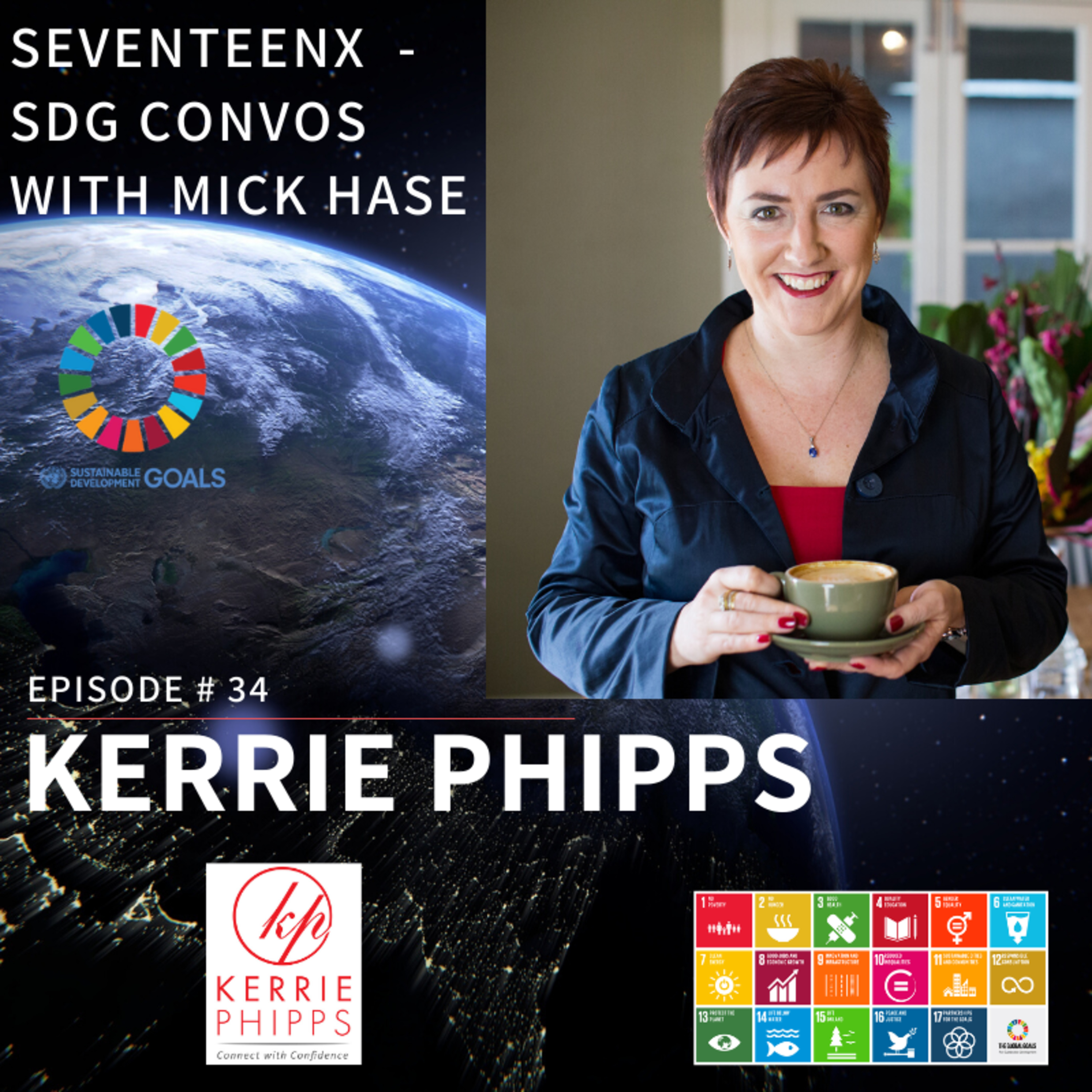 Why talking with strangers can be a stepping stone to so much more with Kerrie Phipps