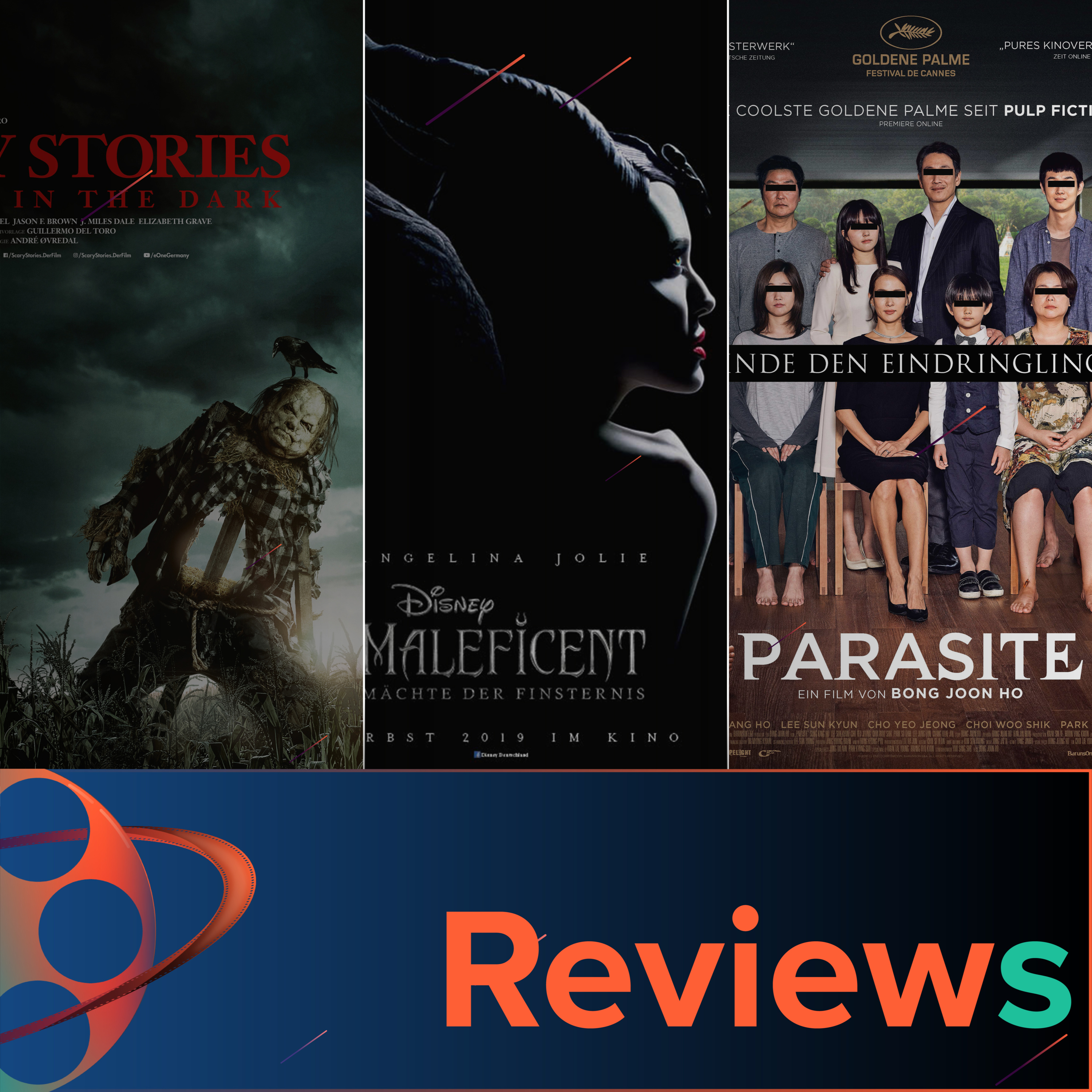 PFG Reviews (Maleficent 2, Parasite, Scary Stories To Tell In The Dark)