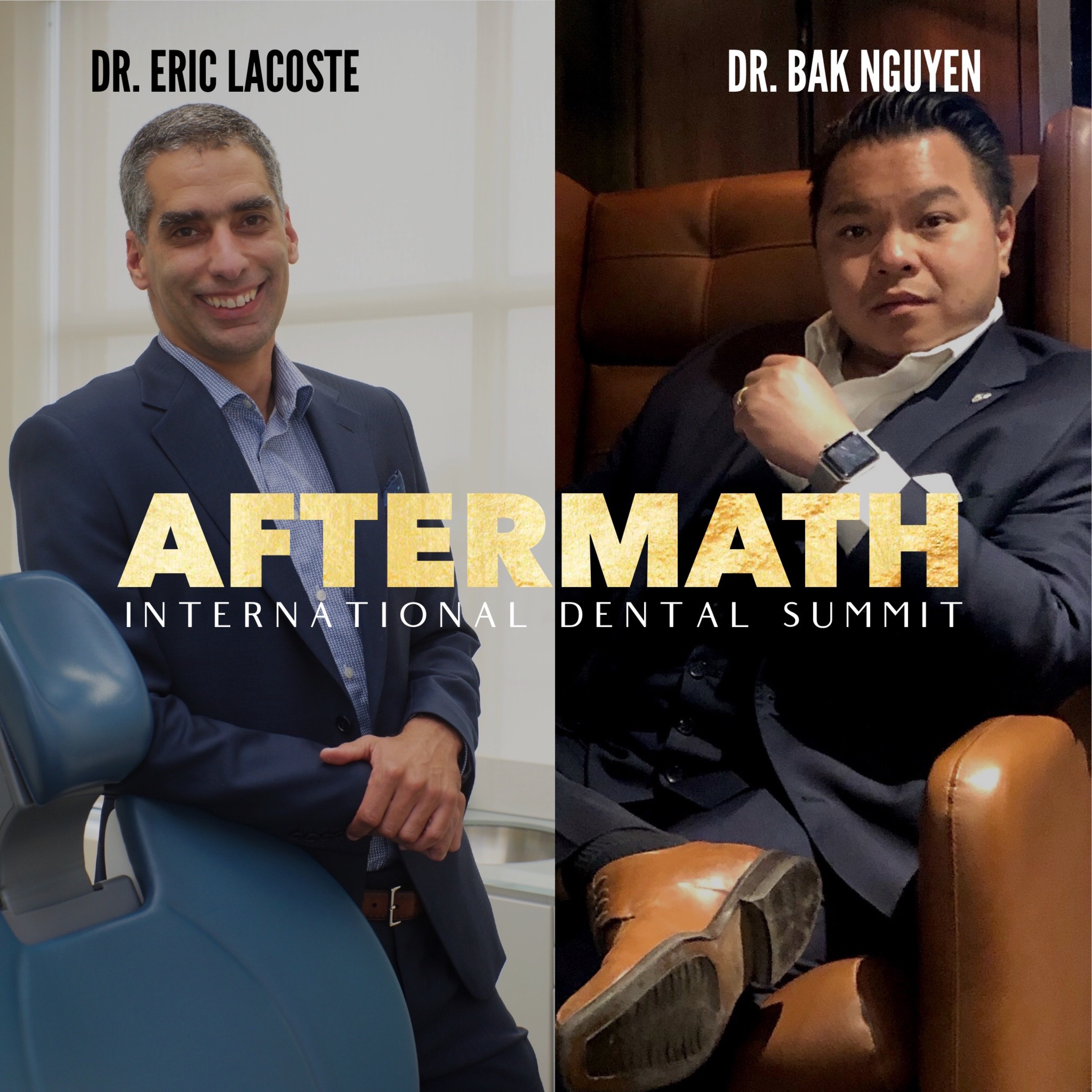 AFTERMATH, Business after COVID-19 with Dr. Eric Lacoste and Dr. Bak