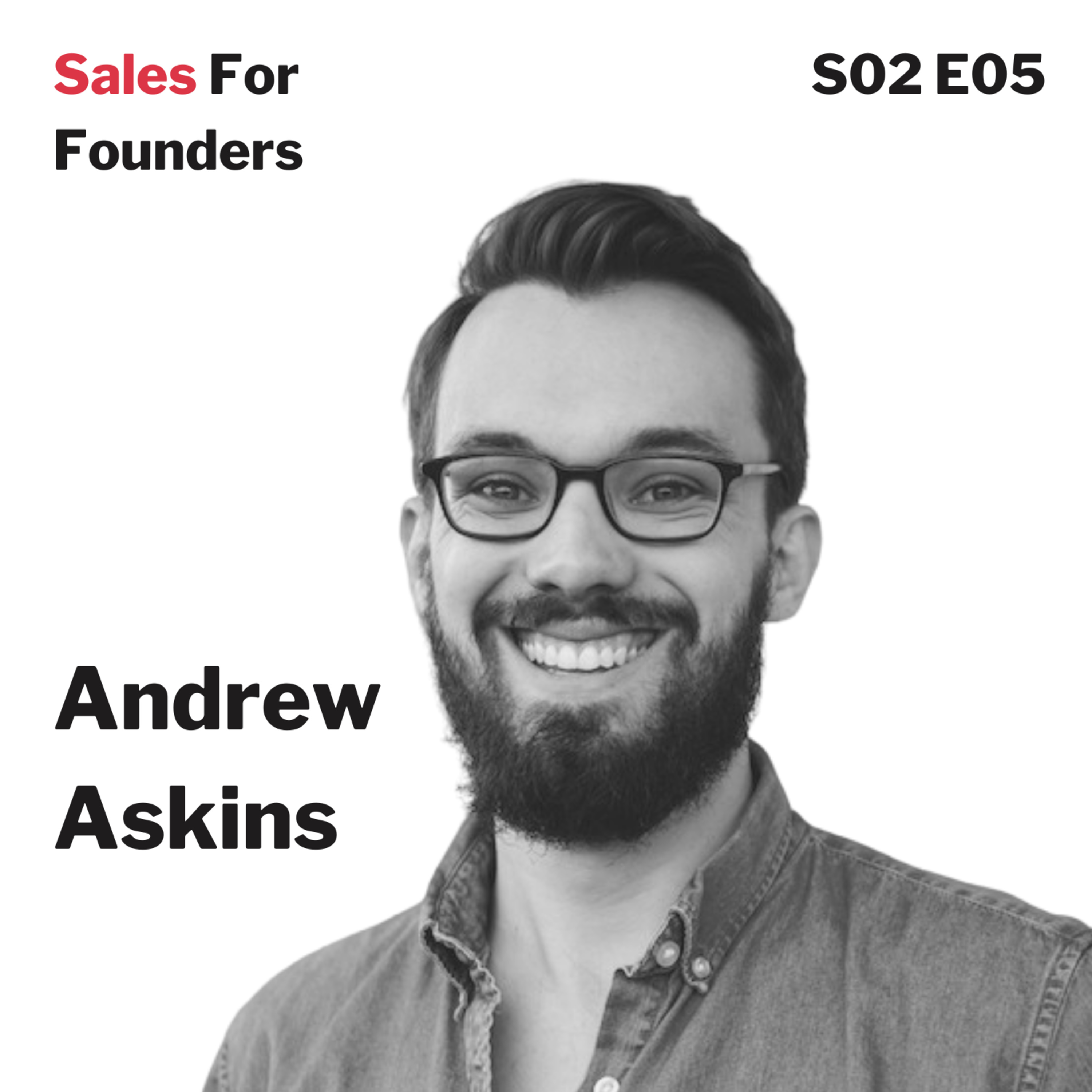 Turning a struggling startup into a $50k/month agency business - with Andrew Askins, cofounder and CEO of Krit.com