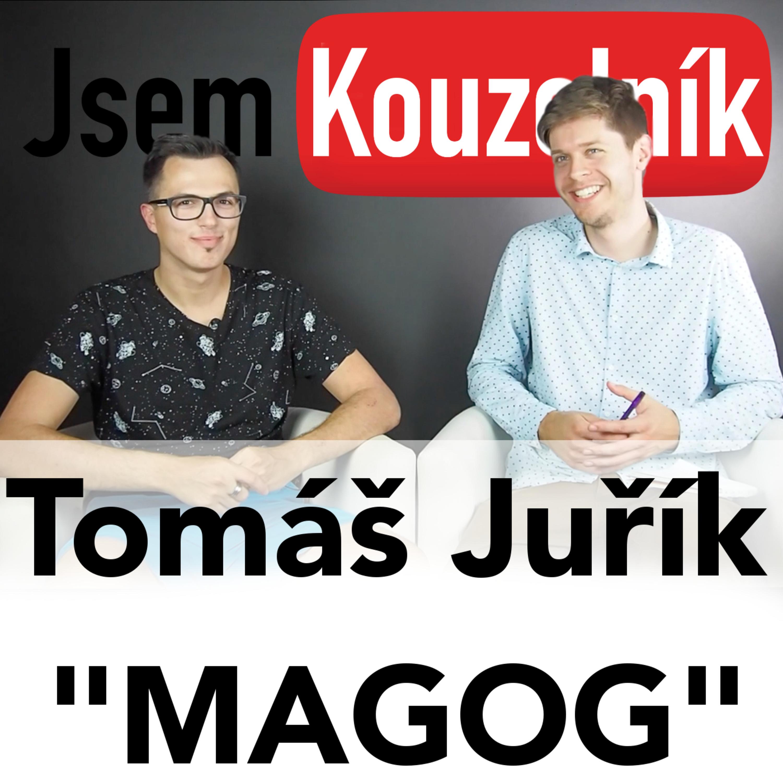 """Tomáš Juřík """"Magog"""" - Hi-tech kouzelník"""