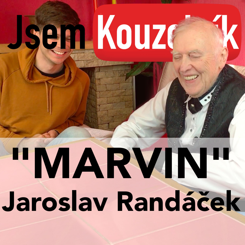 Marvin Jaroslav Randáček - světový kouzleník a bývalý prezident Českého Magického Svazu