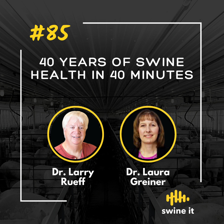40 years of swine health in 40 minutes - Dr. Larry Rueff