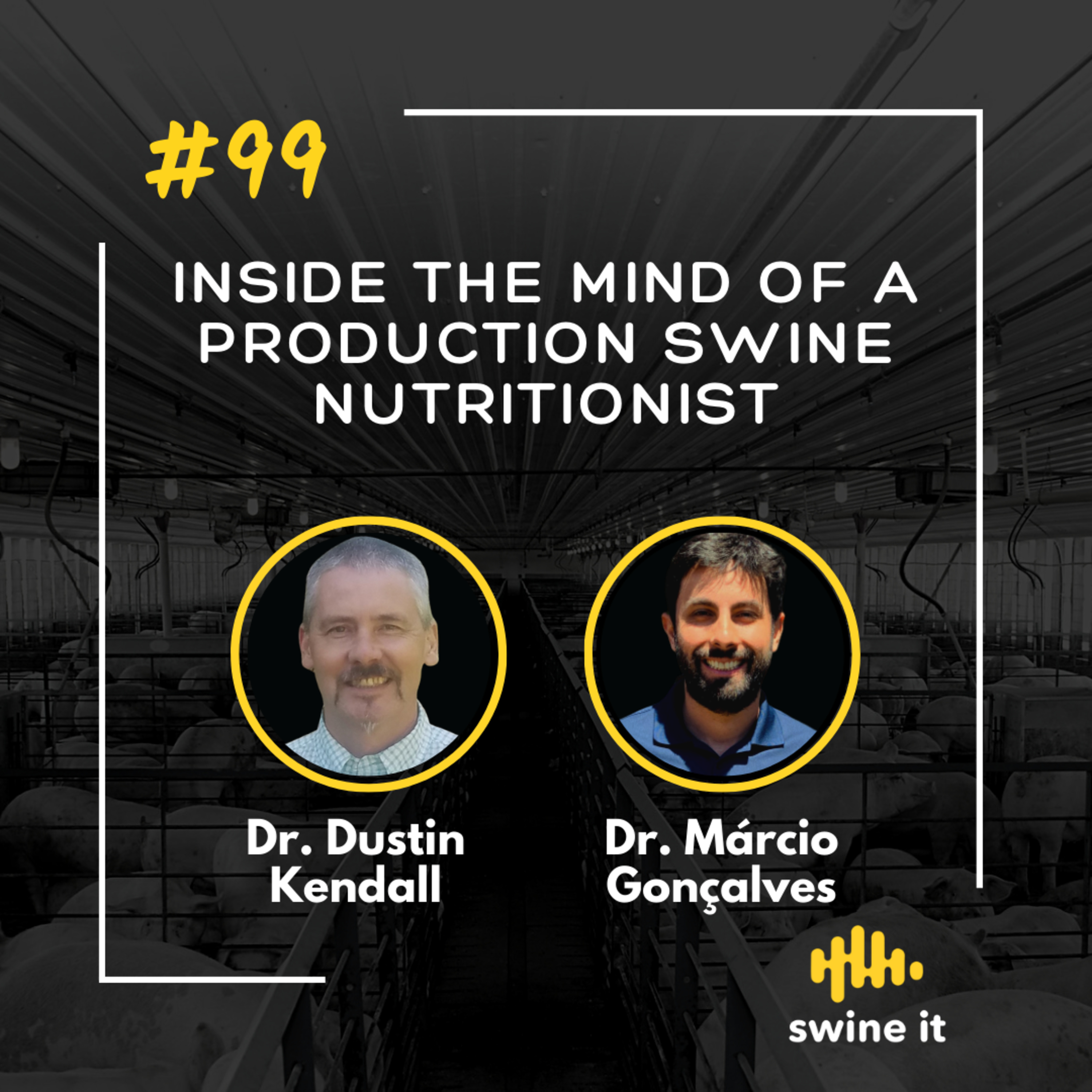 Inside the mind of a production swine nutritionist - Dr. Dustin Kendall