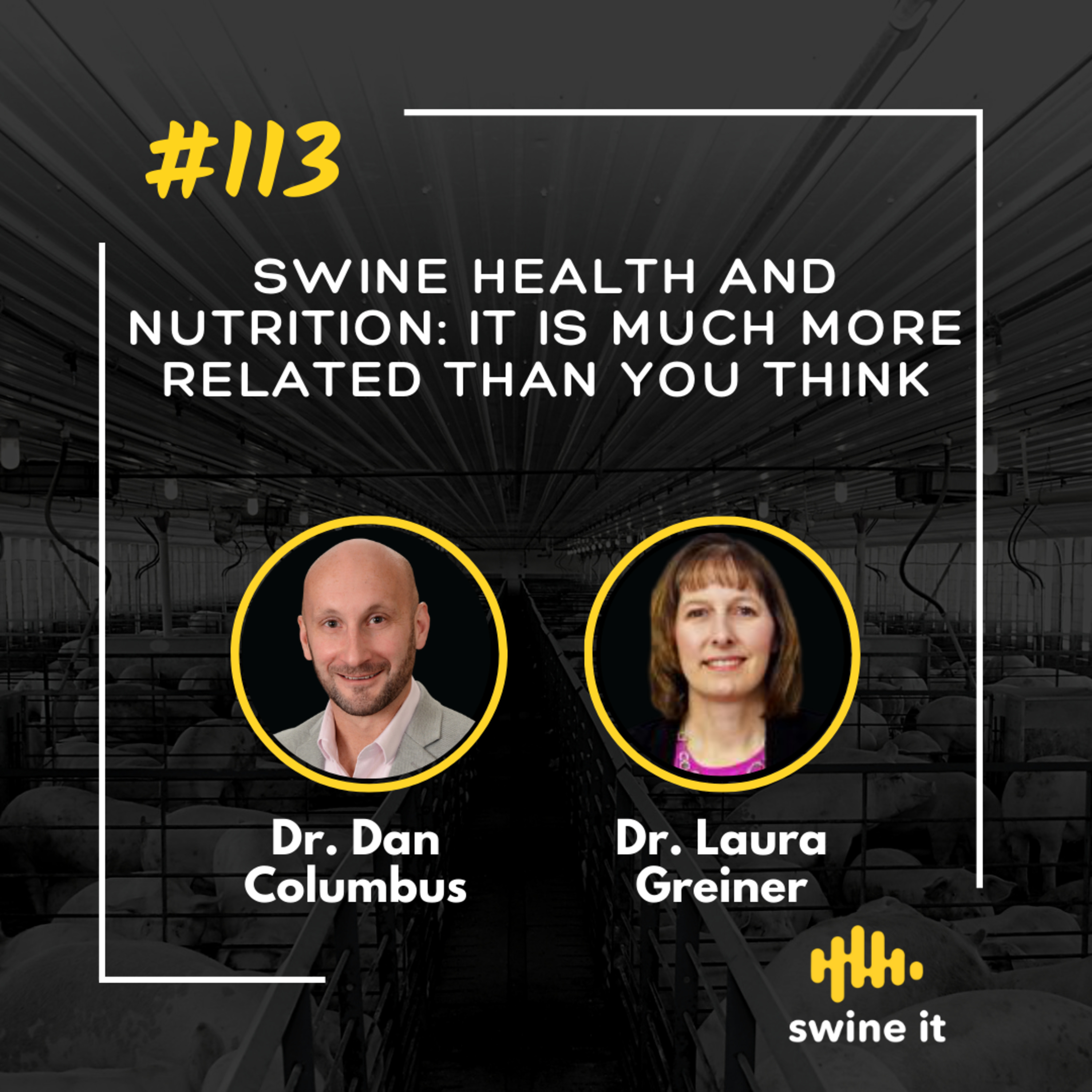 Swine health and nutrition: it is much more related than you think - Dr. Dan Columbus