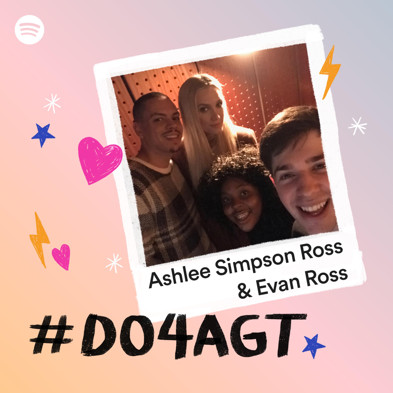 Ashlee Simpson Ross & Evan Ross