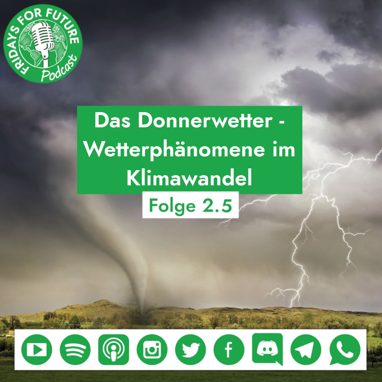 2.5 | Das Donnerwetter - Wetterphänomene im Klimawandel