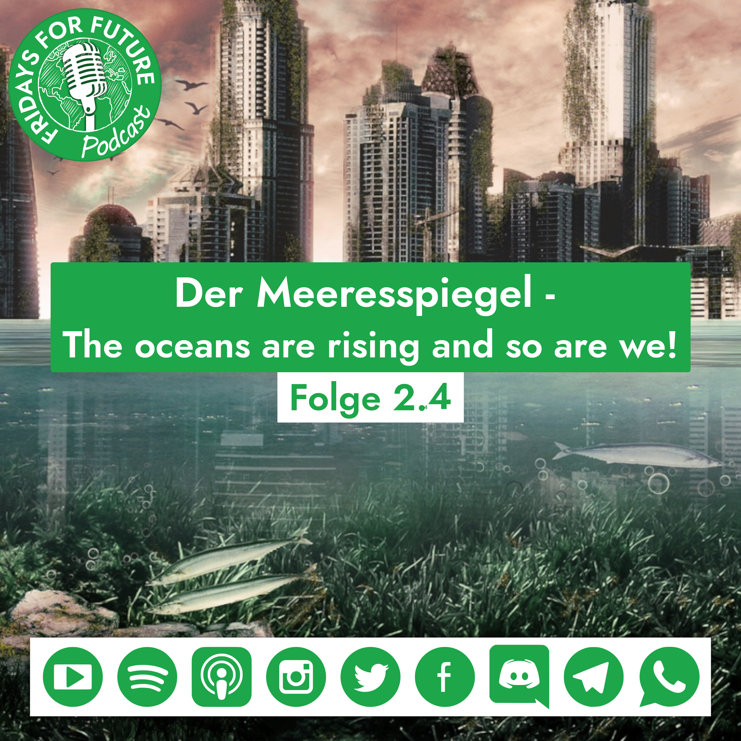 2.4 | Der Meeresspiegel - The oceans are rising and so are we!