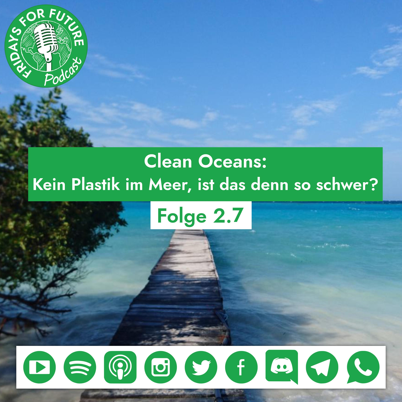 2.8. | Clean Oceans: Kein Plastik im Meer, ist das denn so schwer? #Week4Climate