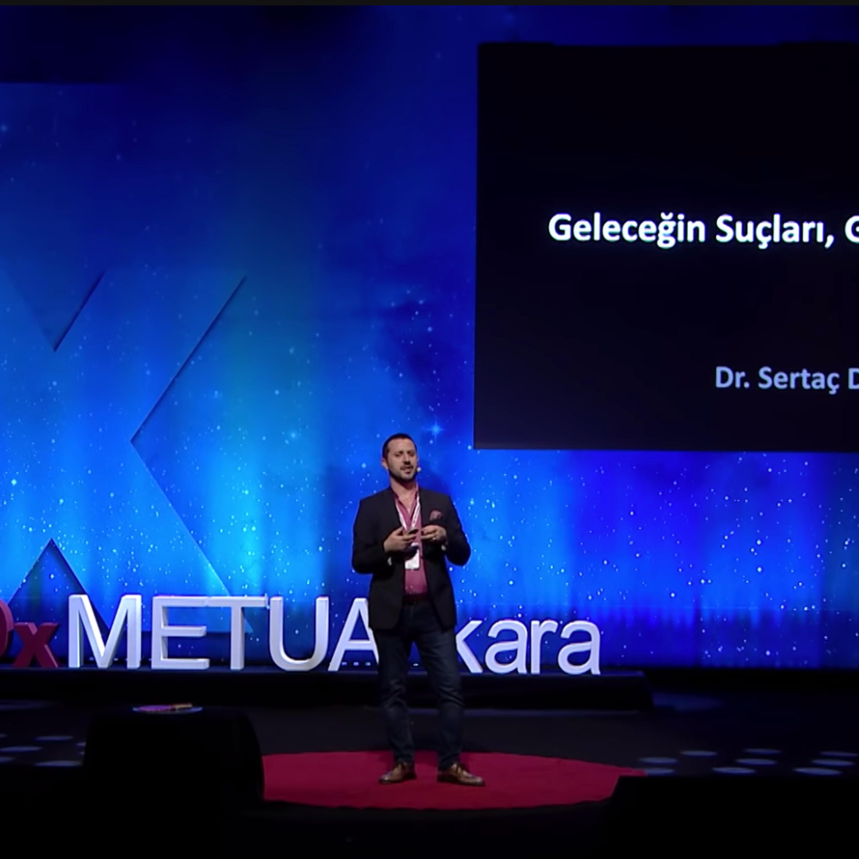 Geleceğin Suçları, Güçleri ve Aşkları   Dr. Sertaç Doğanay   TEDxMETUAnkara