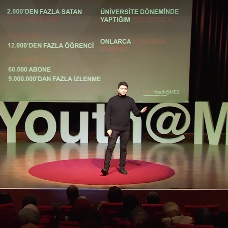 Başarısızlıklarla Gelen Başarı! | Burak Bayram | TEDxYouth@MES
