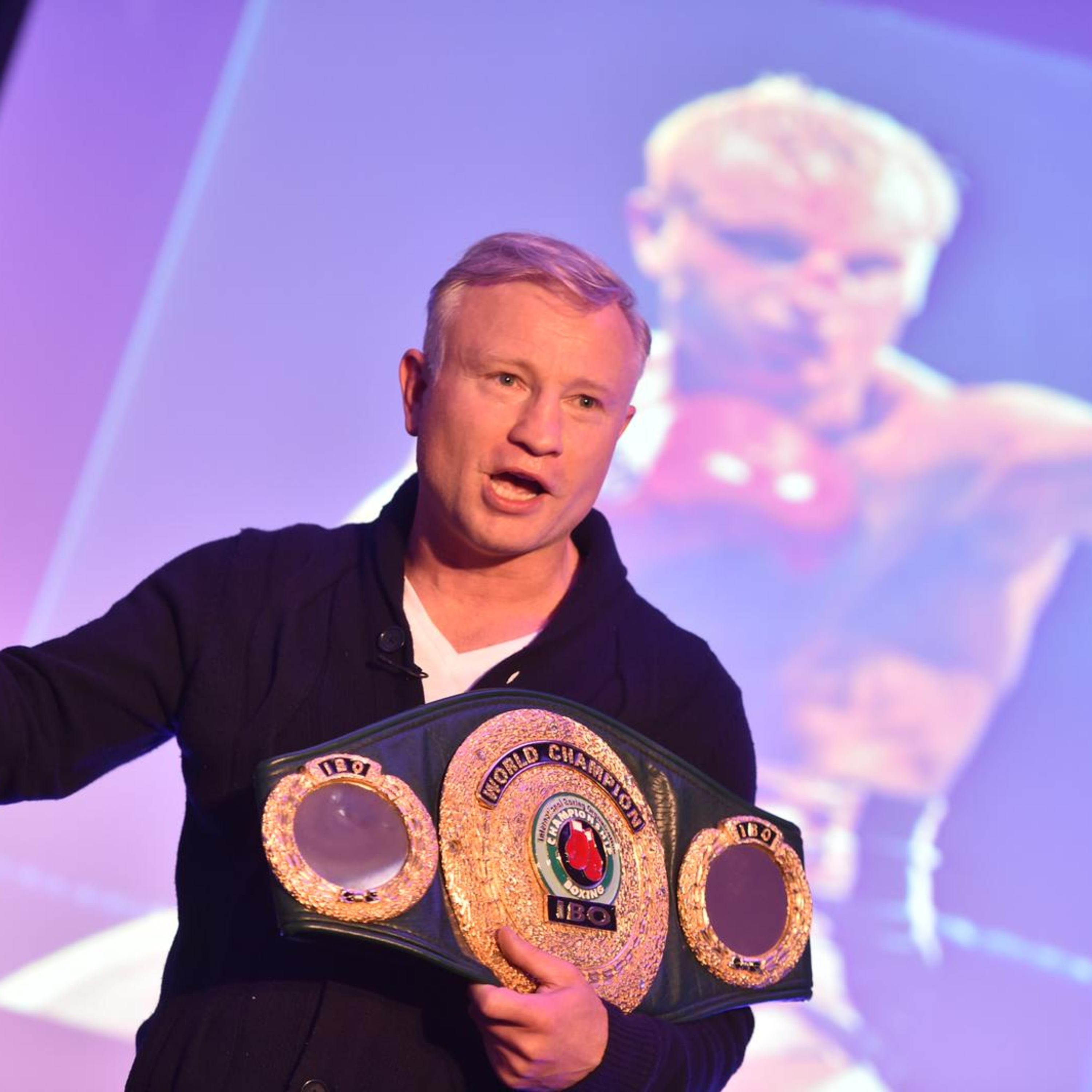 Interview with Billy Schwer, World championship boxer and motivational speaker
