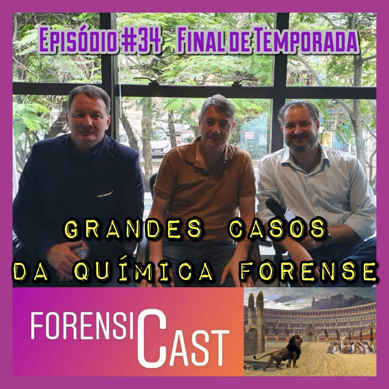 ForensiCast S01E34 Grandes Casos de Química Forense com o Perito Marcos Carpes, do RS - Episódio Final da Primeira Temporada