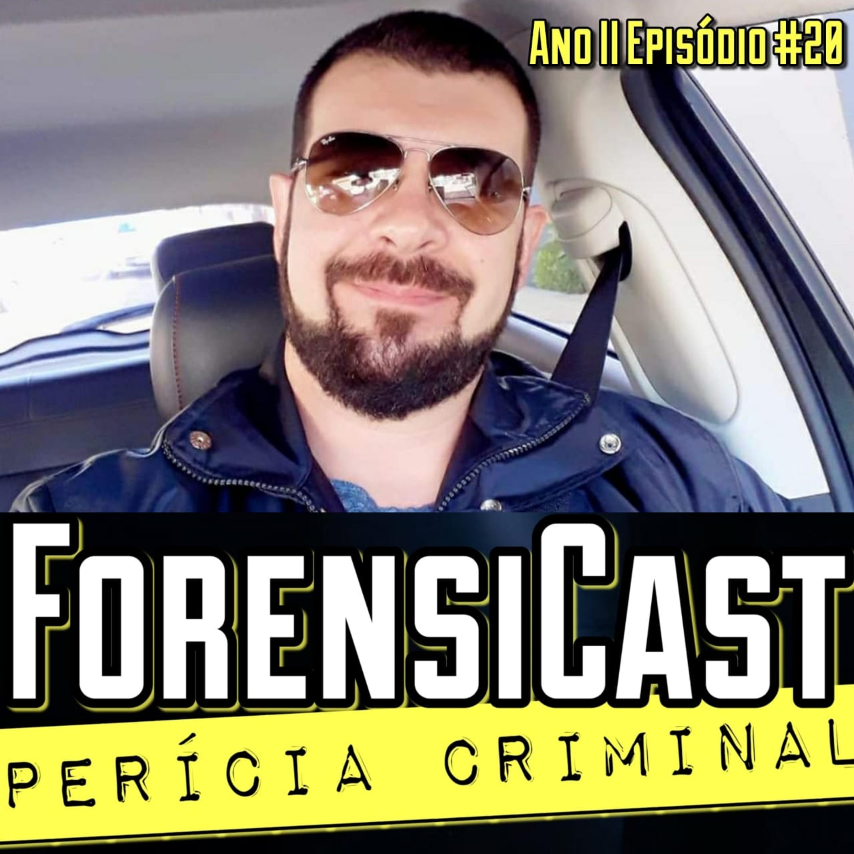 ForensiCast S02E20 ENTOMOLOGIA FORENSE: OS INSETOS SÃO A PROVA, com o Perito Victor Botteon, de SC