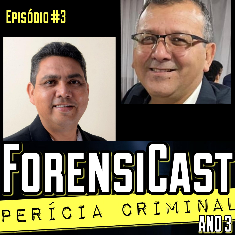 ForensiCast S03E03 NAUFRÁGIO DO ANNA KAROLINE III, com os Peritos Marcos Góes e Emânuel Pena, AP