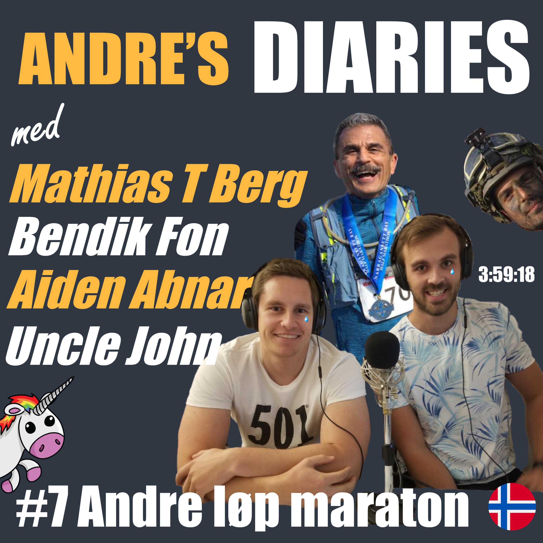 #7 - Andre løp maraton m/ Mathias, Bendik, Aiden og Uncle John [NORSK]