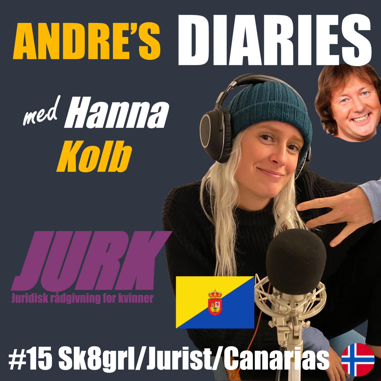 #15 Sk8grl/Jurist/Canarias m/ Hanna Kolb [NORSK]