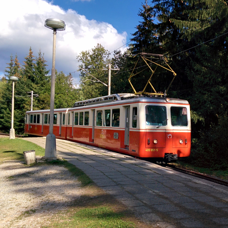Príchod zubačky v Tatranskom Lieskovci