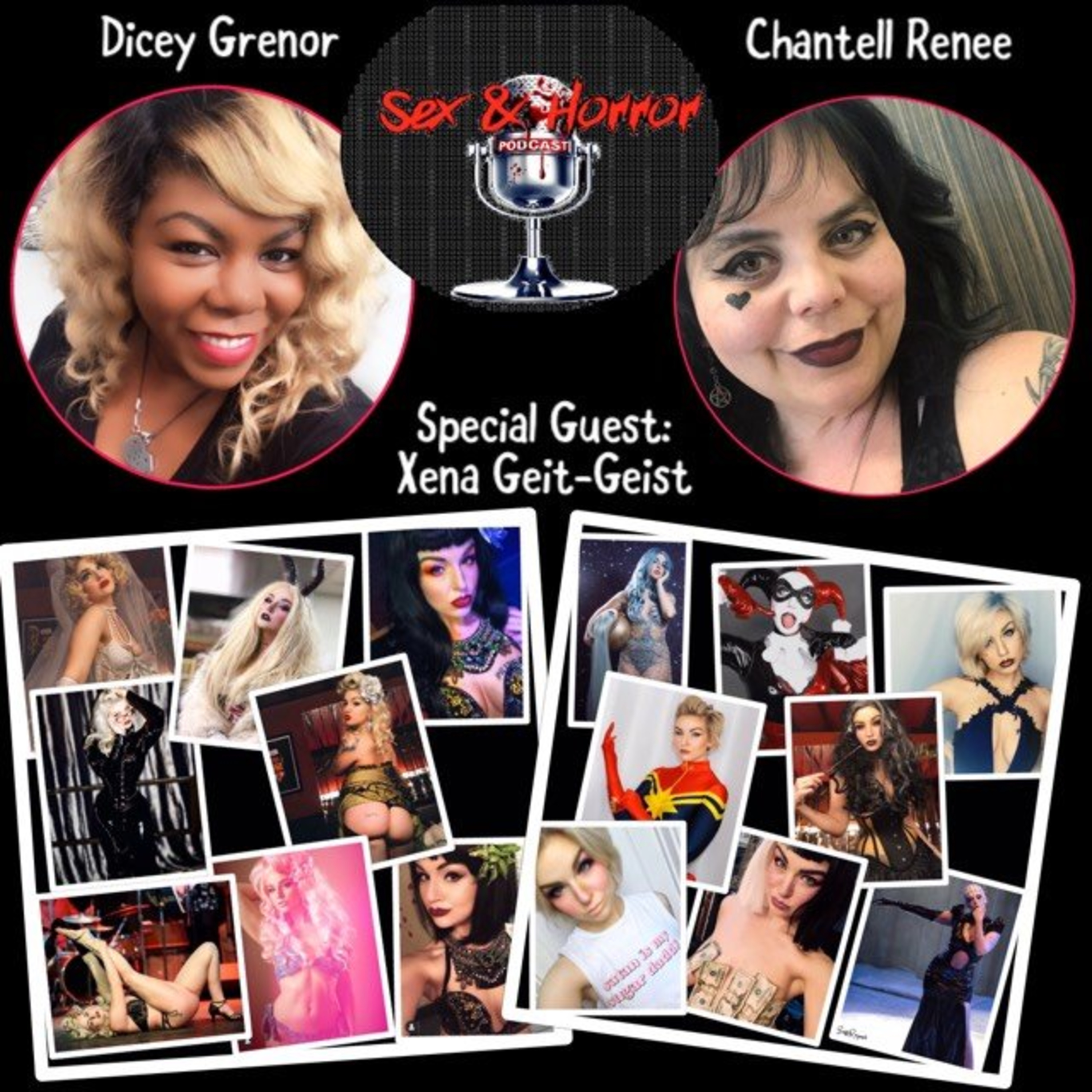 Sex and Horror with Dicey Grenor and Chantell Renee.