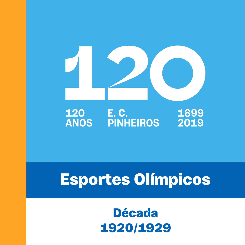 E3 - 120 Anos - Esportes Olímpicos - 3° Década