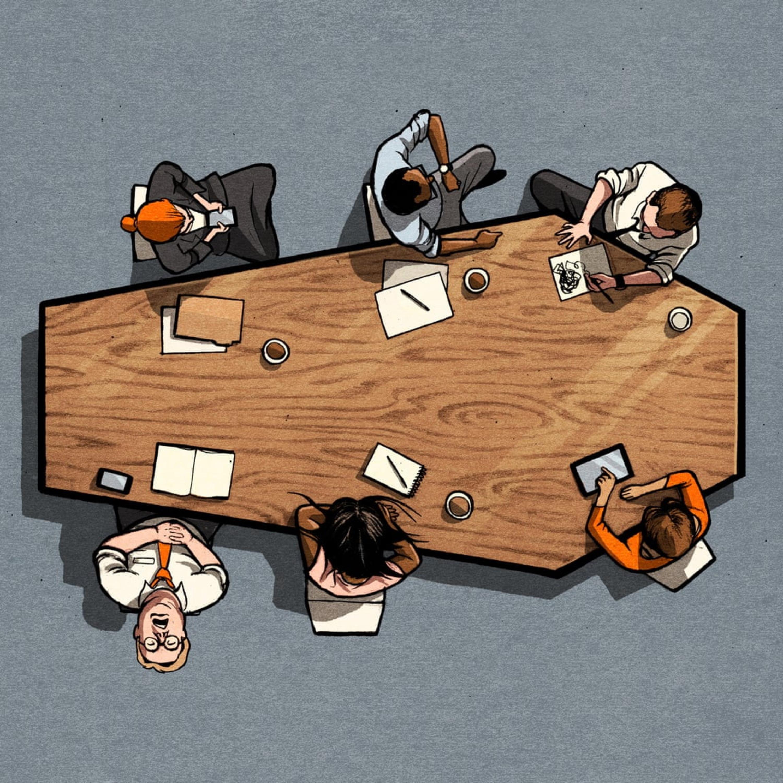 جلسه یعنی هدردادن وقت. آیا راهحلی وجود دارد؟