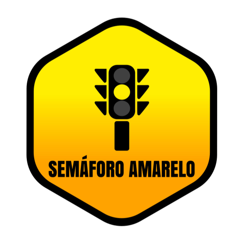 Semáforo Amarelo - Das pistas para a Estrada
