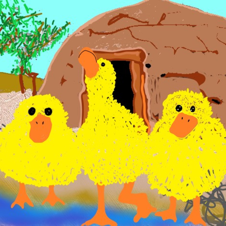 The Three Fluffy Ducks