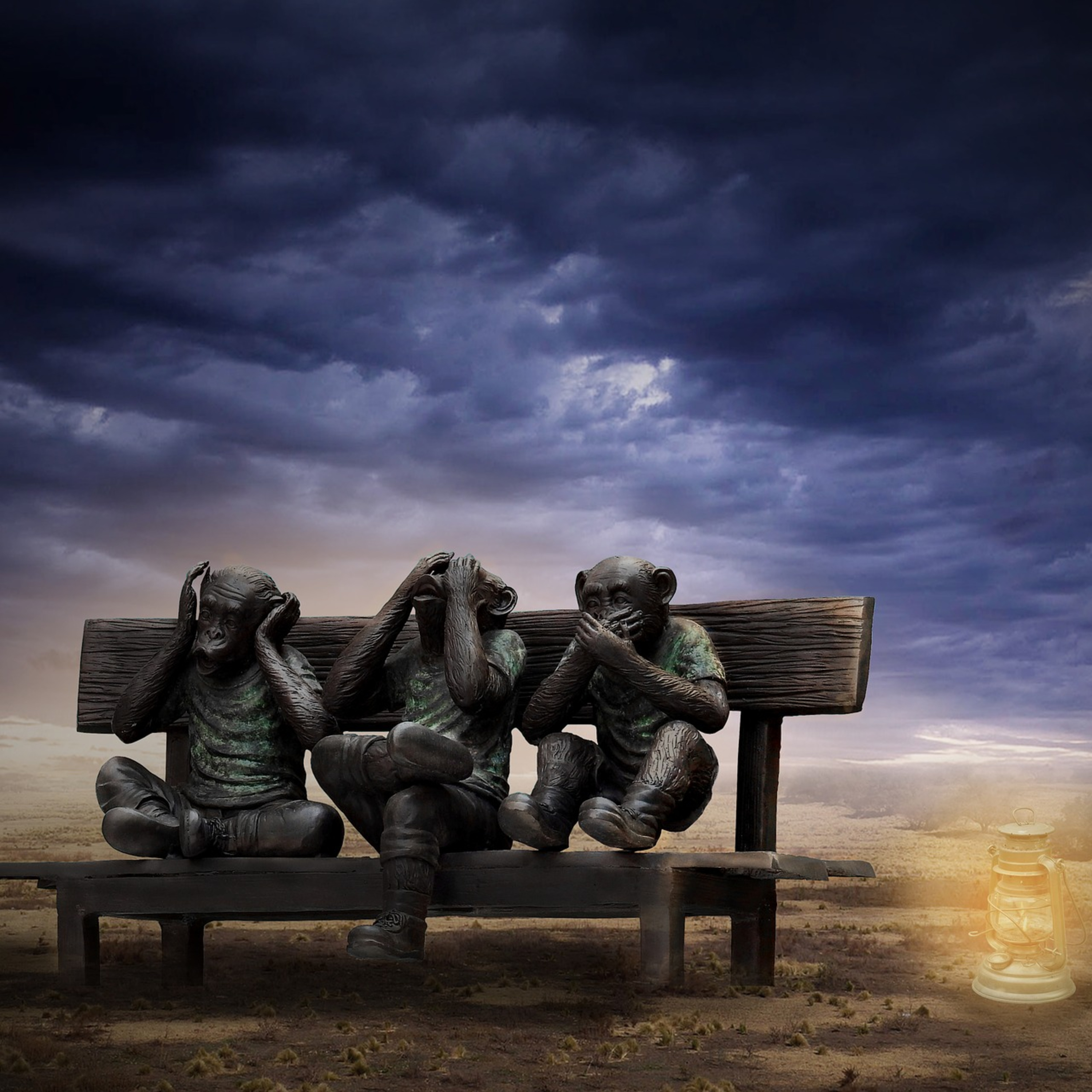Parental Alienation and The Three Wise Monkeys