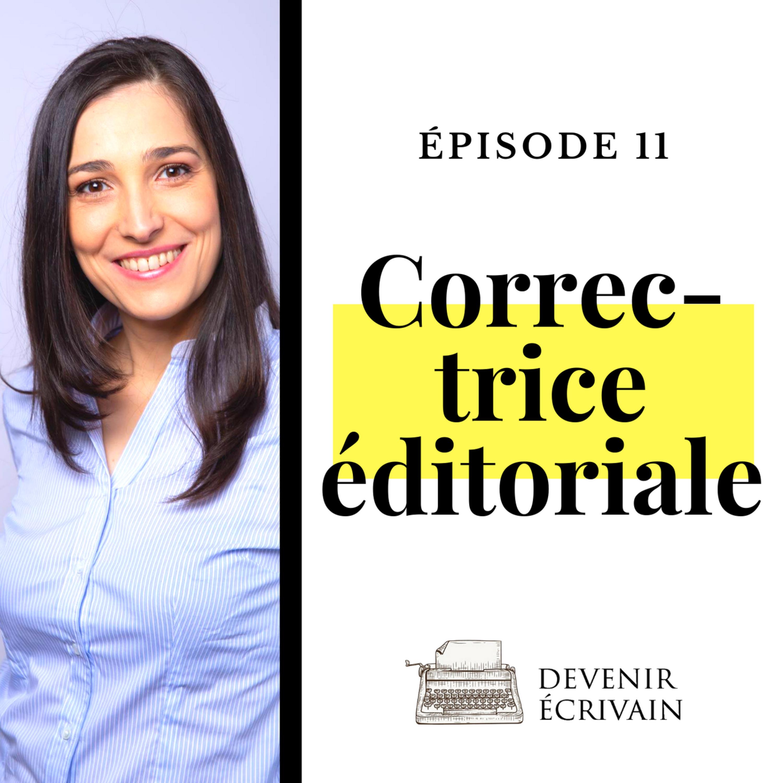 Ep #11 - Le métier de correctrice éditoriale avec Candice Ulrik