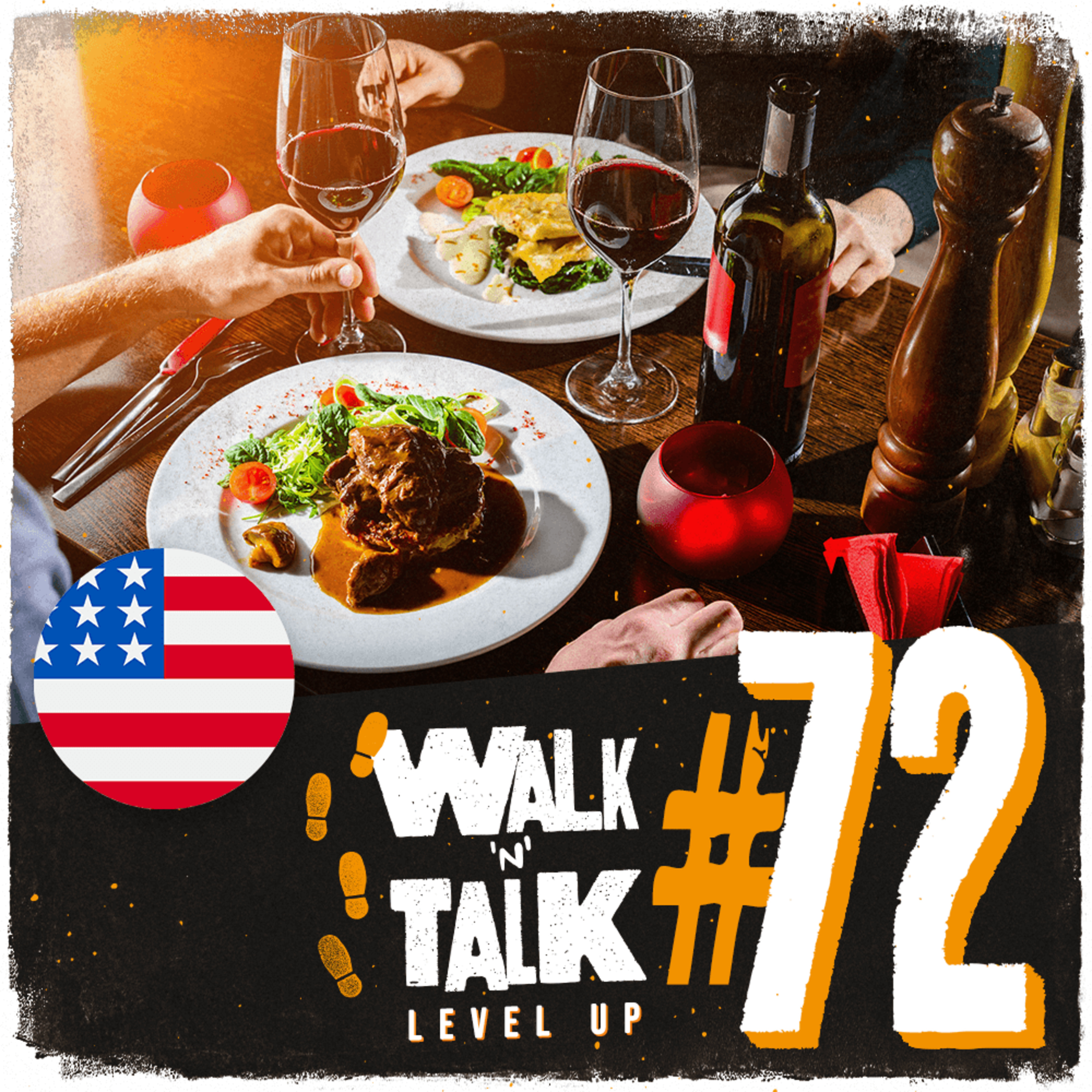 Walk 'n' Talk Level Up #72 - Setting up the table