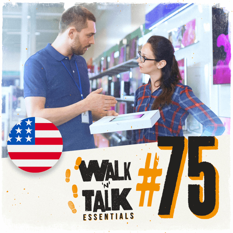 Walk 'n' Talk Essentials #75 - Você pode me ajudar?