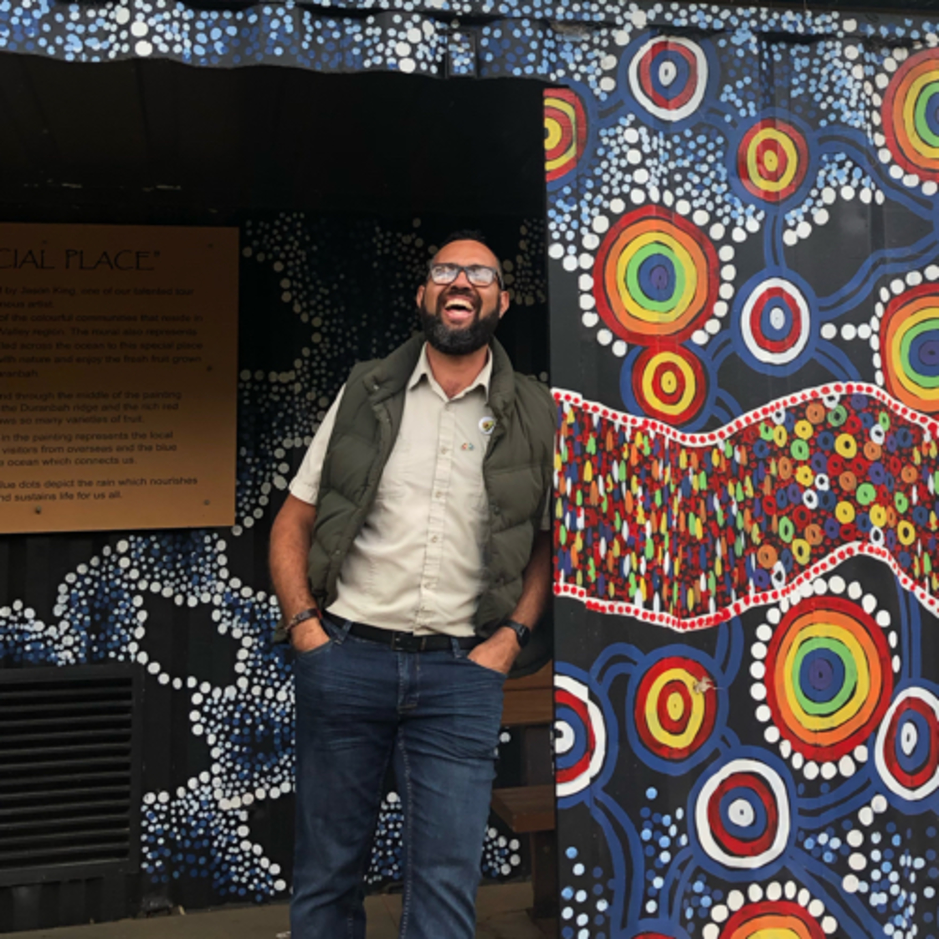 Check In- Indigenous artist & Tropical Fruit farm forager Jason King