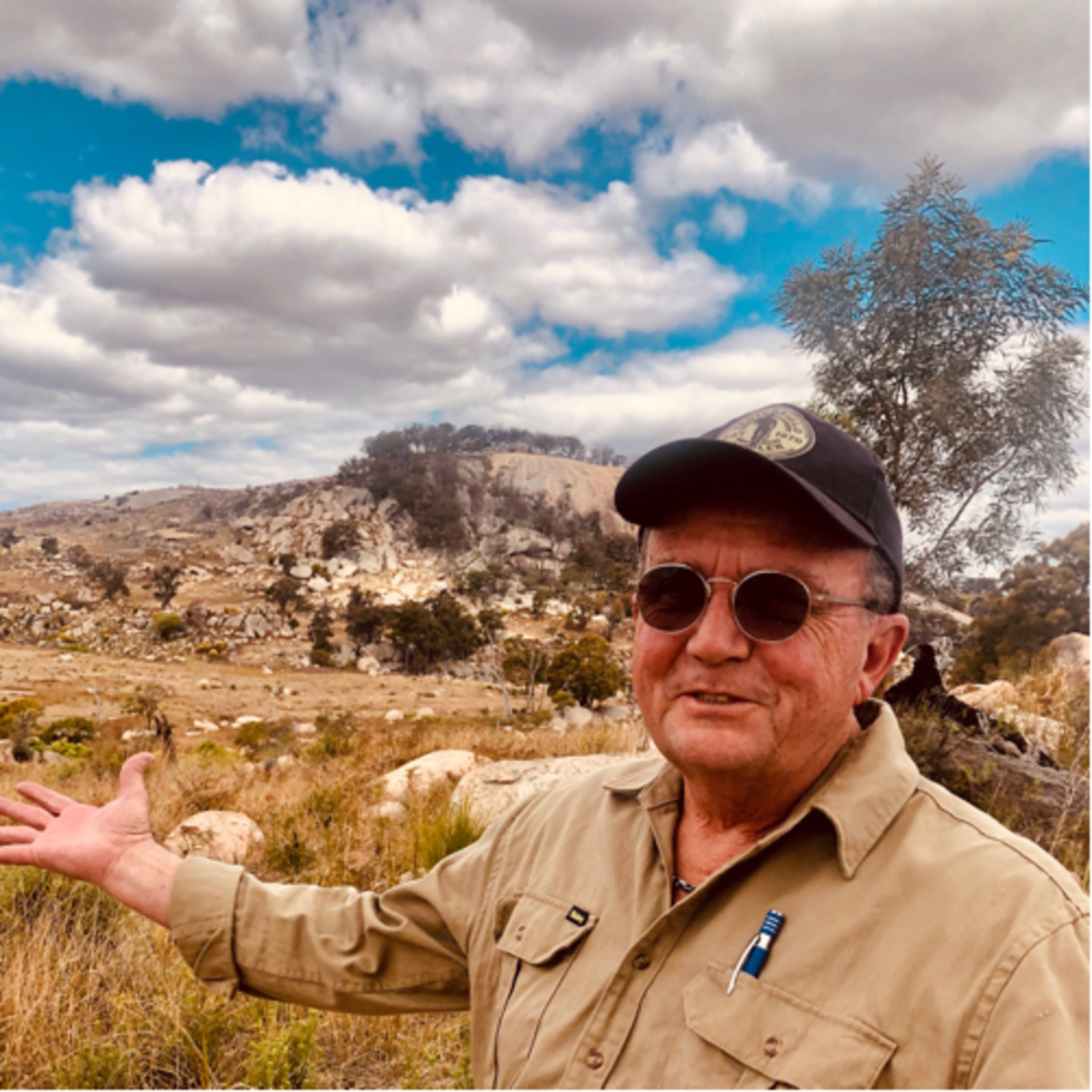 EP 55- Tenterfield Travelling with local historian Kevin Santin.