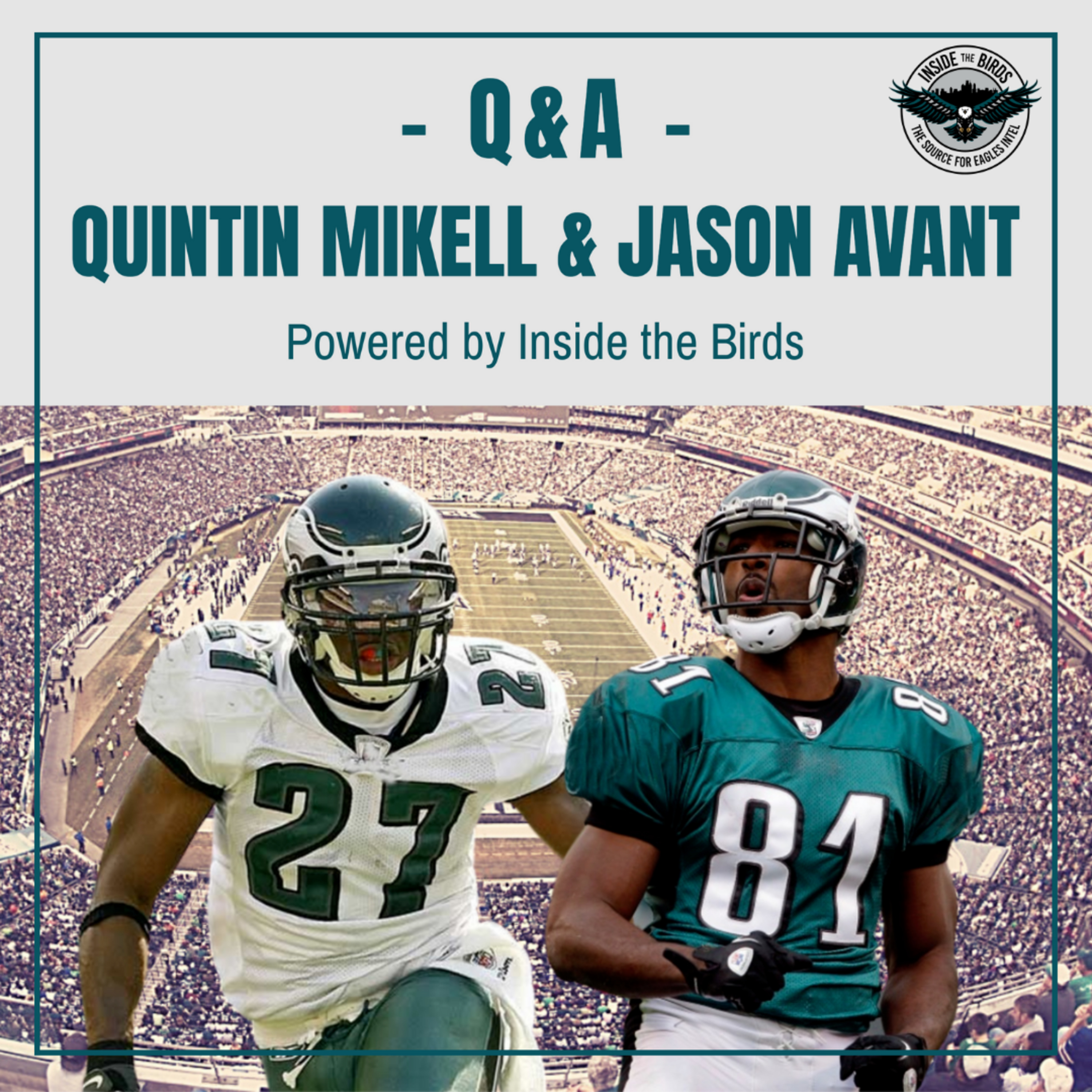Get Julio?  Punched By Brian Dawkins   Jalen Hurts Down With KYP?   When You Know You're Done   Q&A With Quintin Mikell & Jason Avant