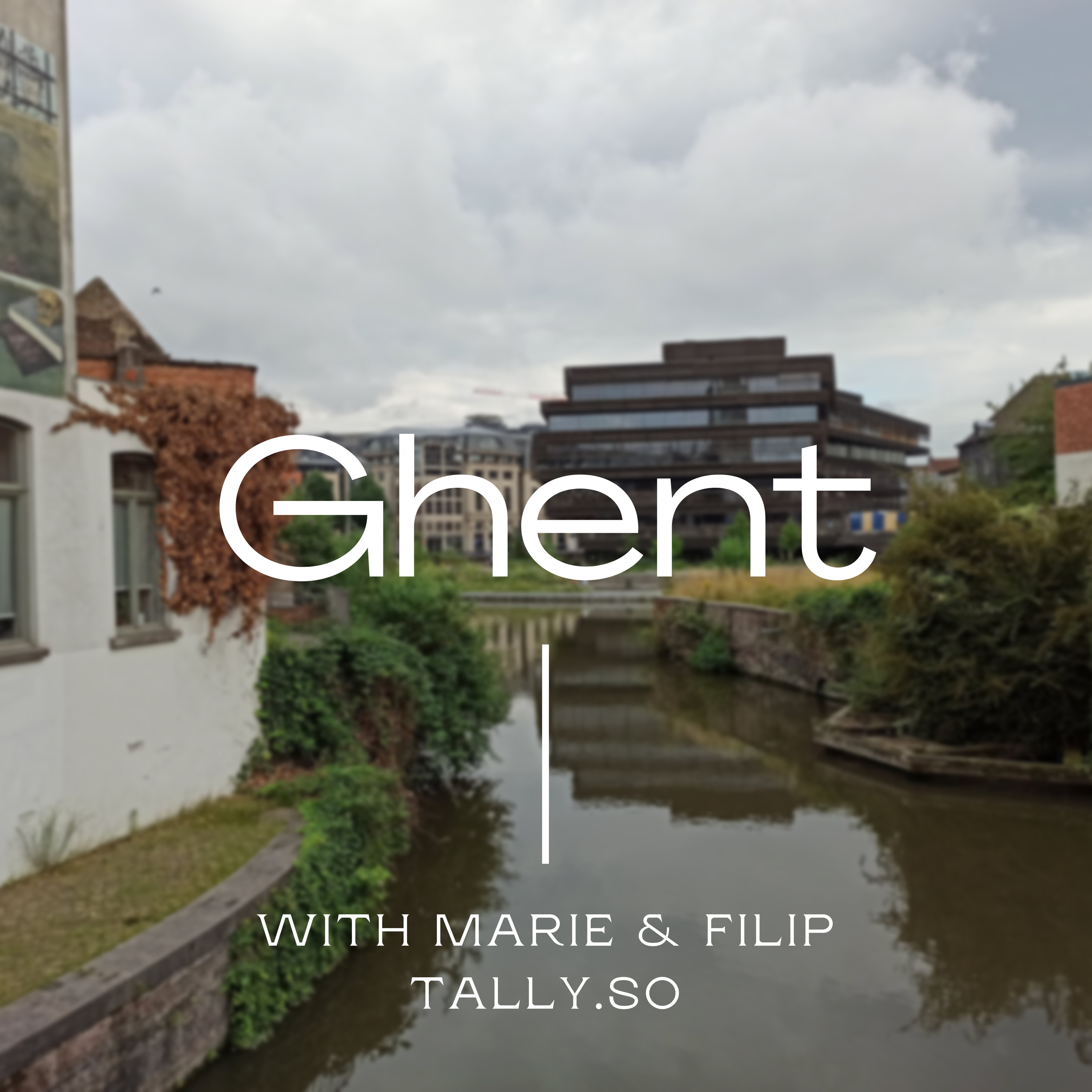 #1: In Ghent, Marie and Filip tell me everything about tally.so