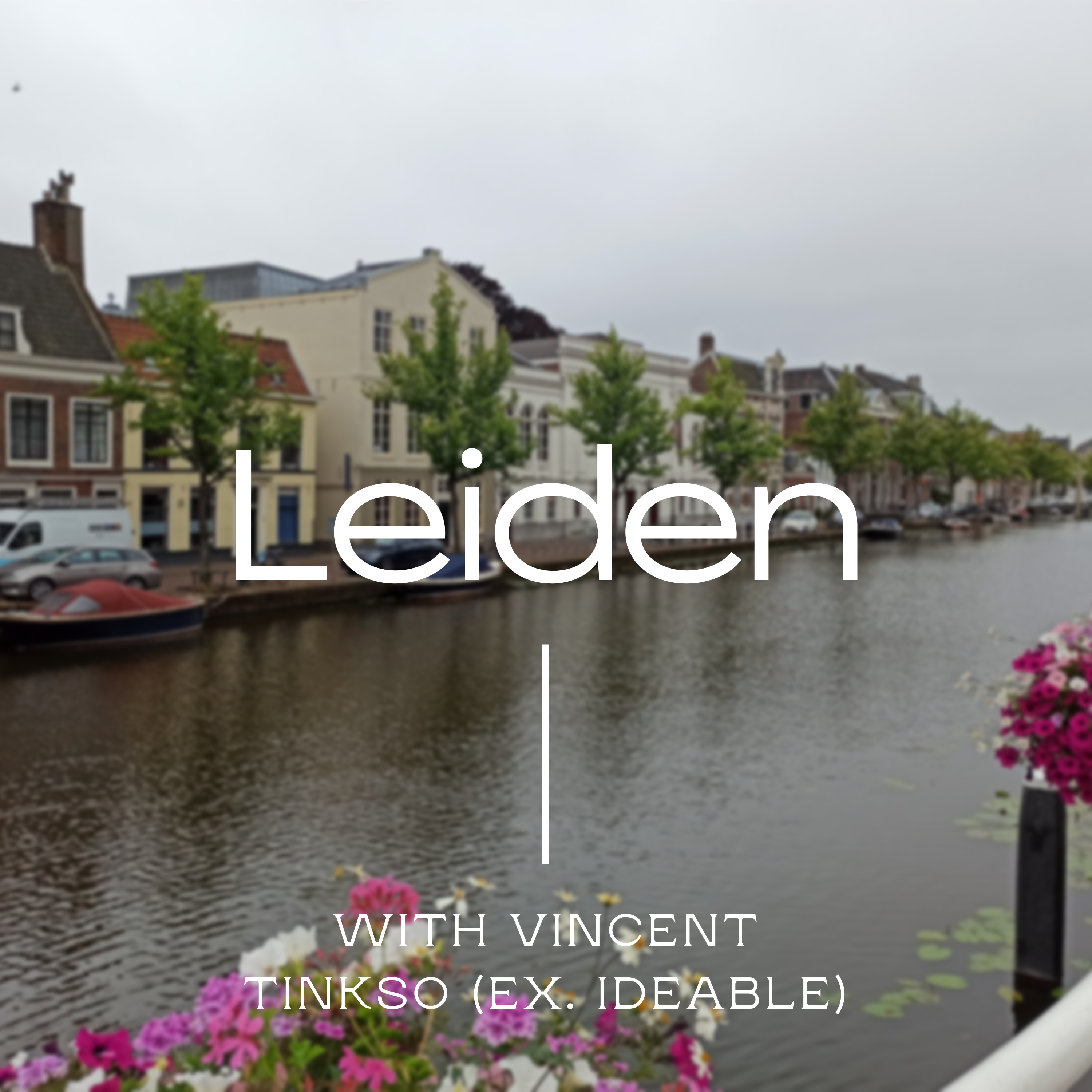 #2: In Leiden, I talk about the no-code agency business with Vincent from Tinkso (ex. Ideable)
