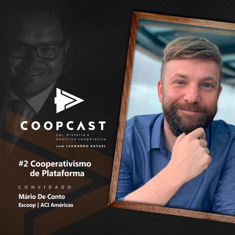 Cooperativismo de Plataforma com Mário De Conto
