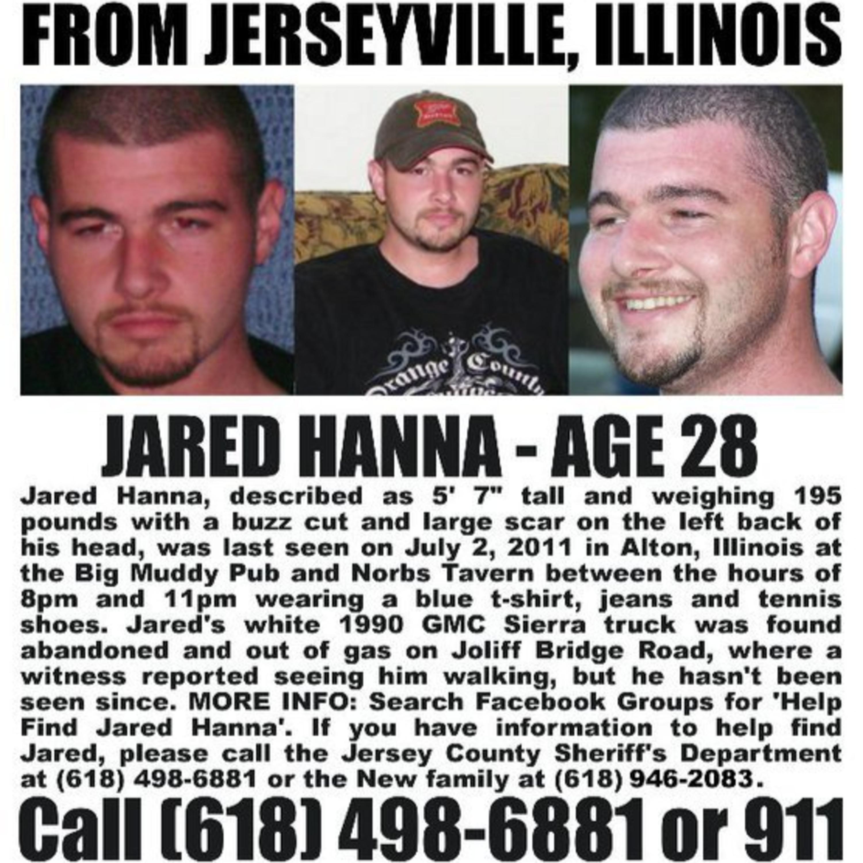 Missing Jared Hanna - 2