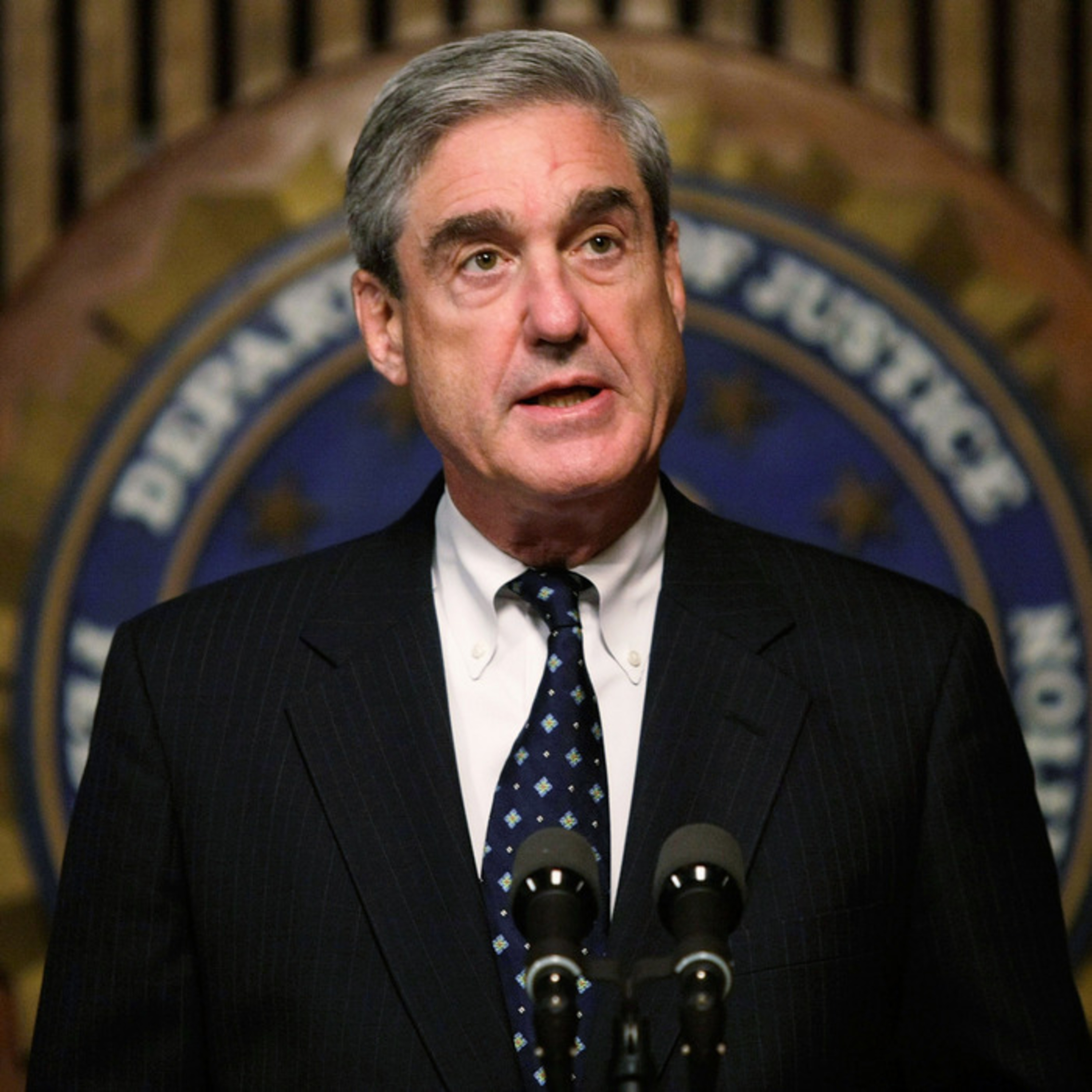 Special Counsel Robert Mueller takes the stage in Front of the American people