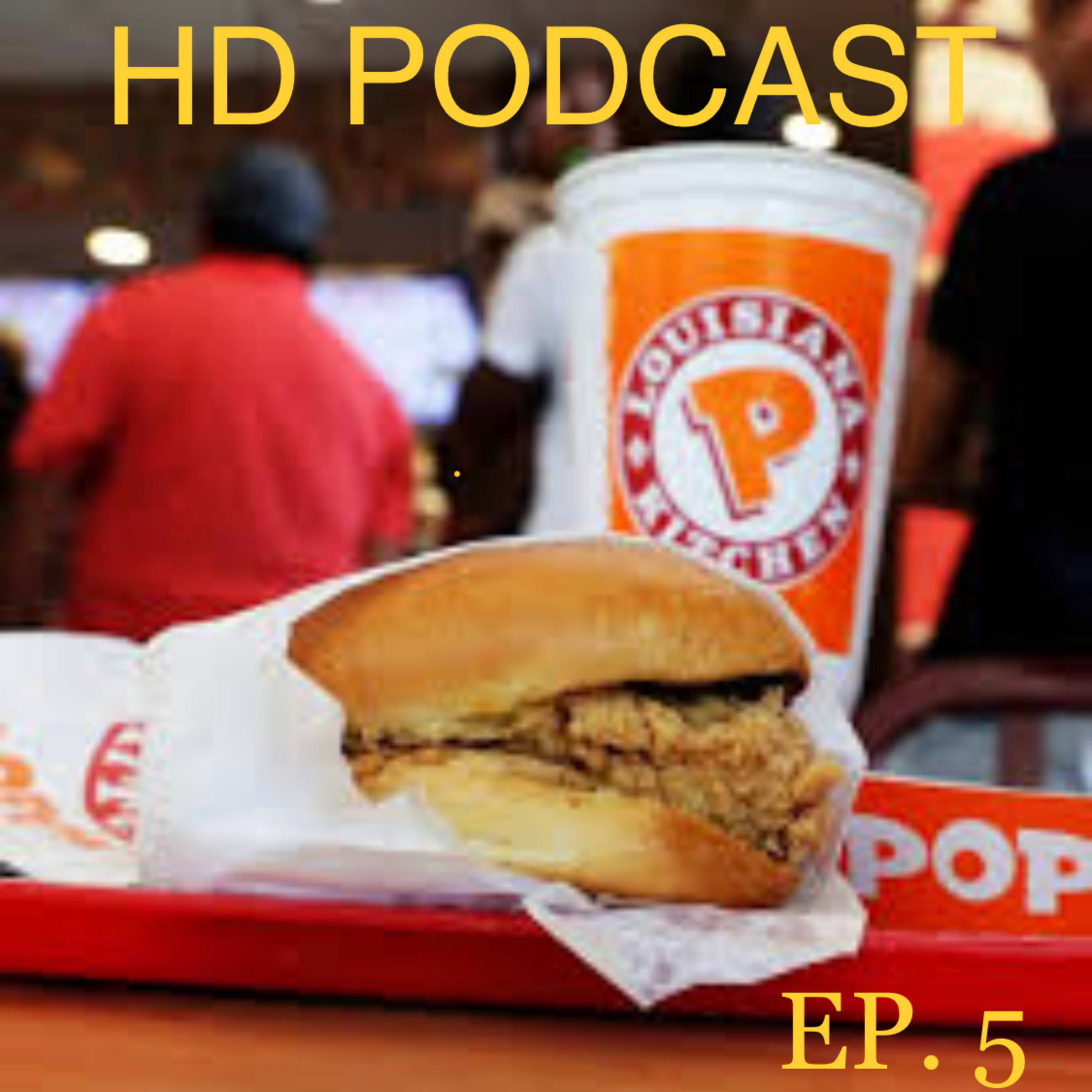 CHICKEN SANDWICH WITH WATER ON FIRE EP. 5.