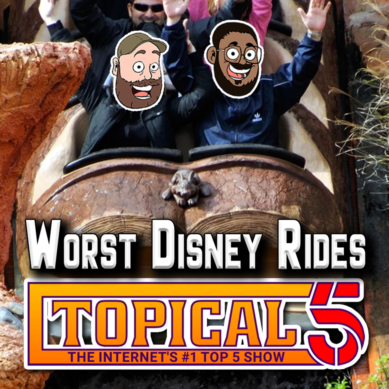 Worst Disney Rides