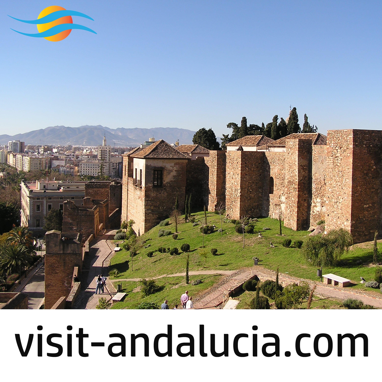 The Gibralfaro Castle and Alcazaba at Malaga