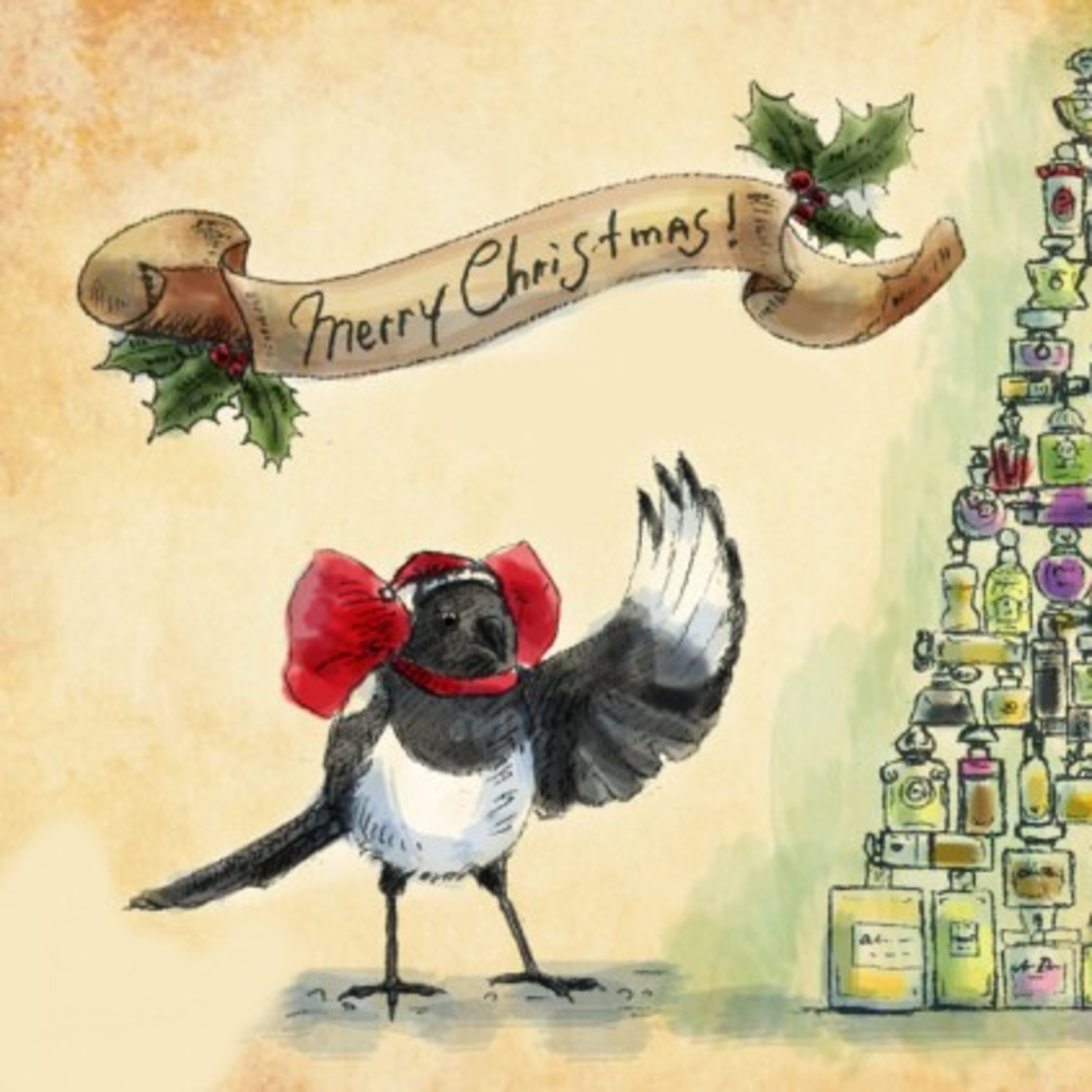 The Merry Magpie