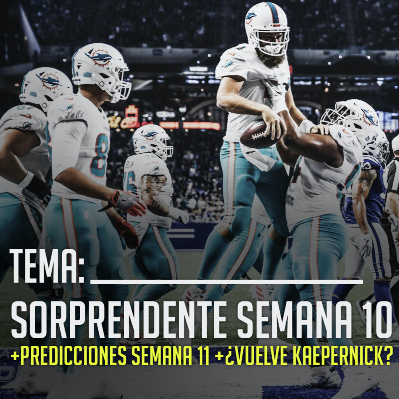 Ep. 12 Increíble semana en la NFL; Predicciones semana 11 | Yarda a Yarda
