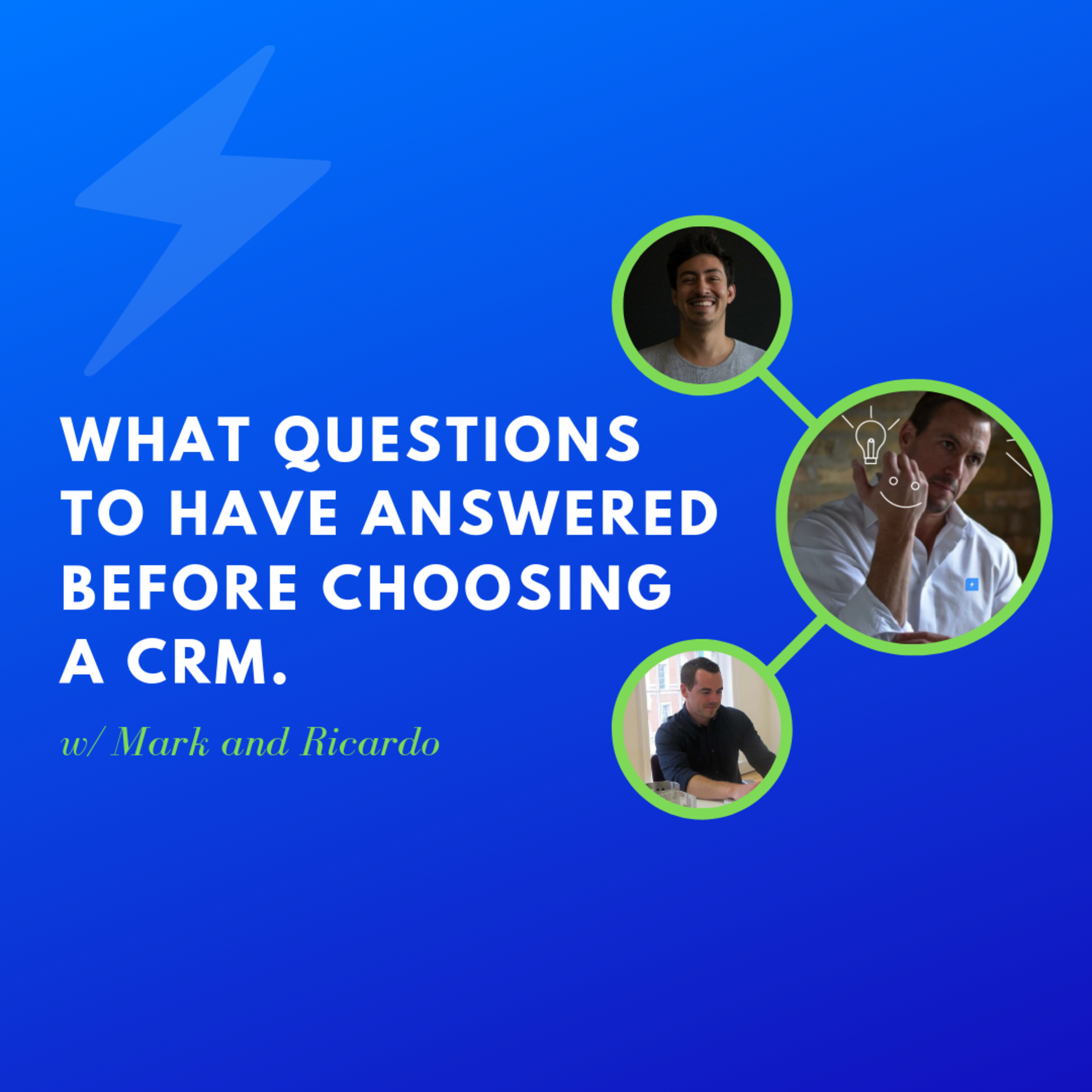 5 Questions To Answer Before Choosing A CRM - Mastermind Discussion