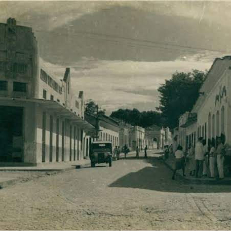 NOSSA HISTÓRIA COM EZIQUIO BARROS NETO - Descrição da foto histórica da rua Afonso Pena